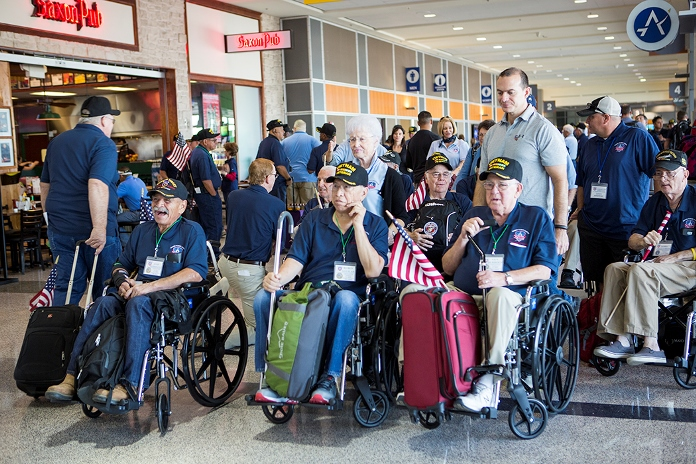 Vietnam Veterans prepare for Honor Flight