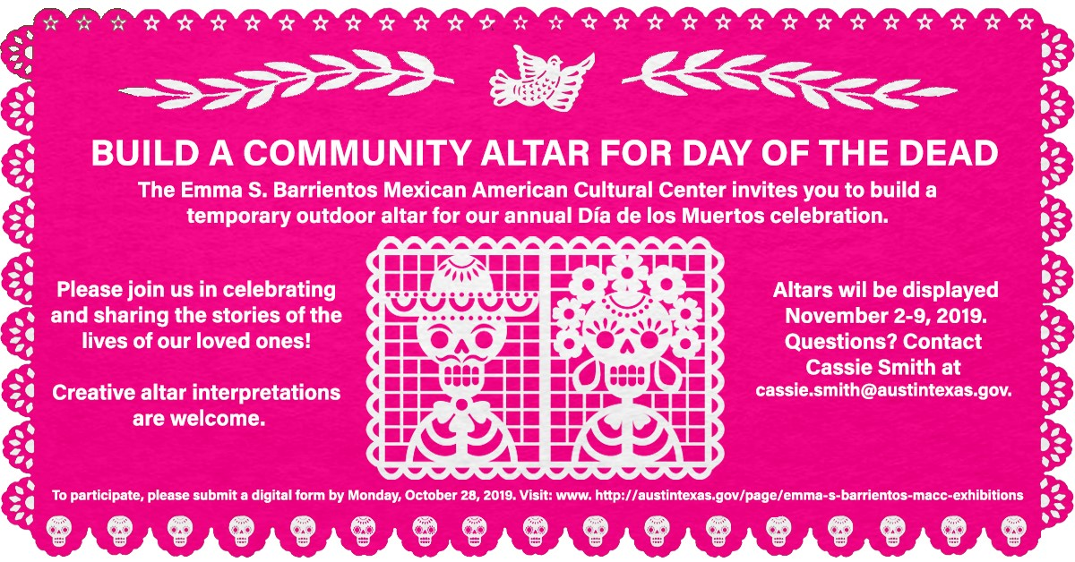 Build an Altar for Day of the Dead