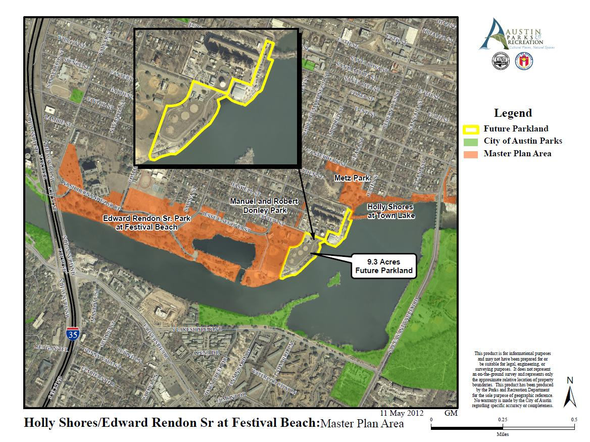 Holly Shores/Edward Rendom Sr at Festival Beach map