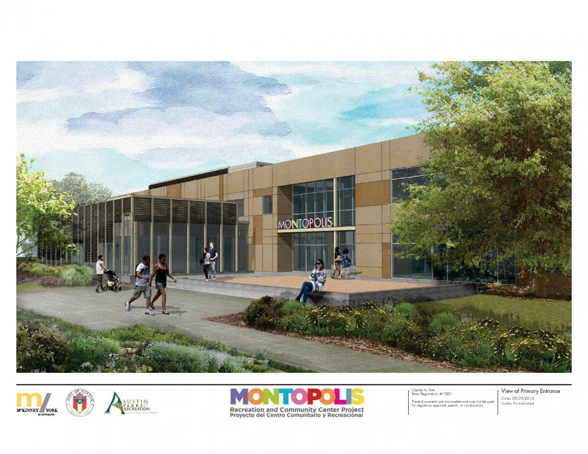 Montopolis Rendering Entry View