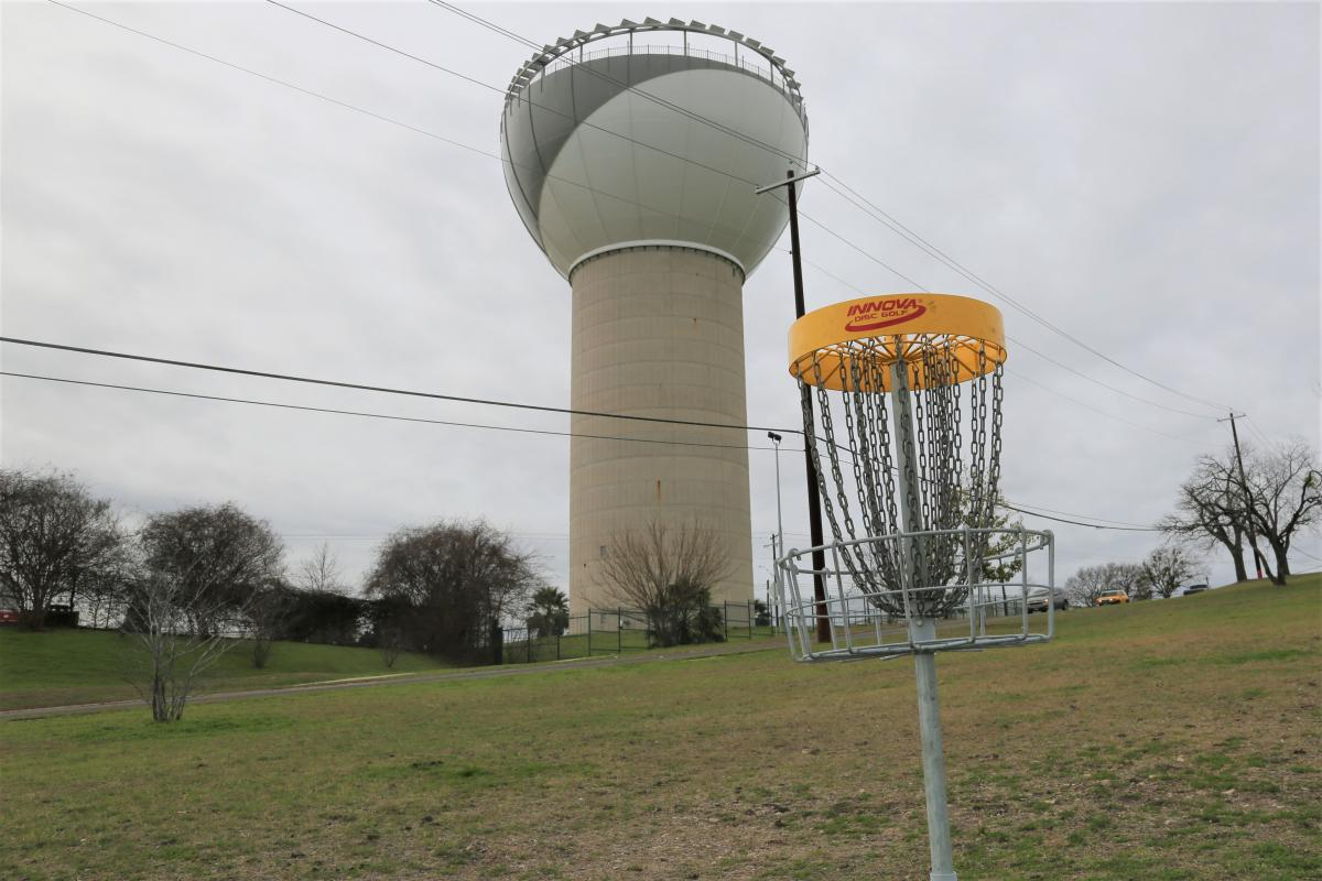 Disc Golf Course Hole #2 at Bartholomew District Park