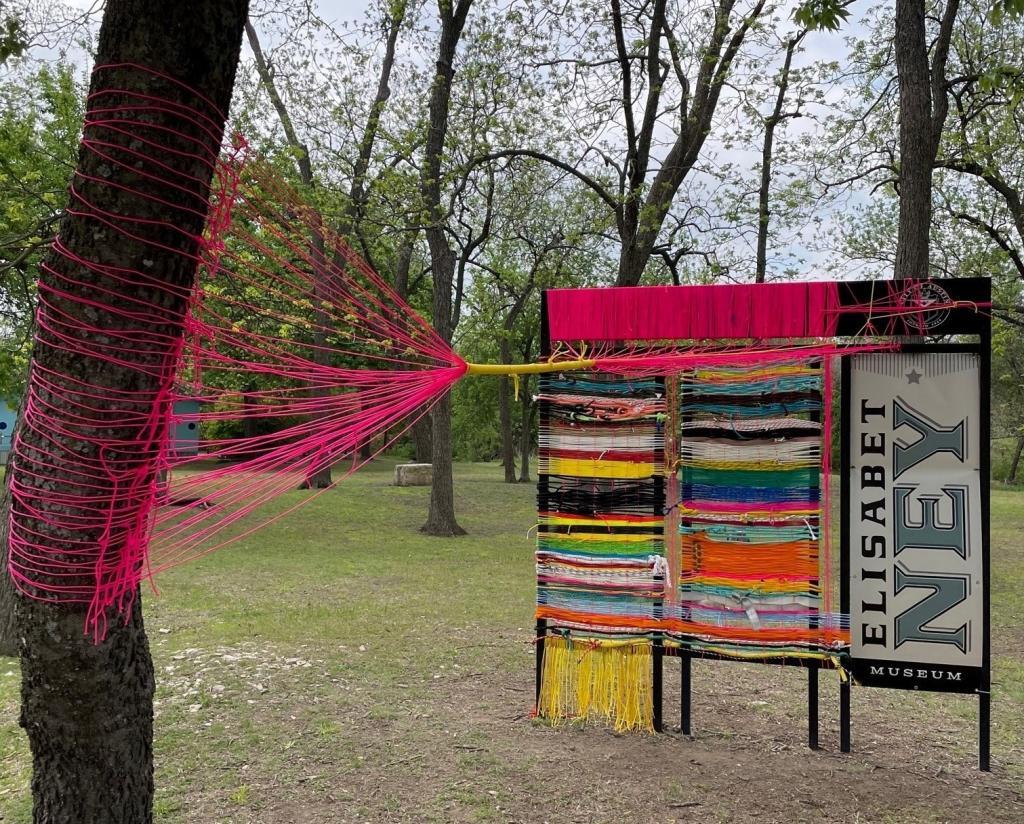 Jade Walker's new exhibit: Reweave: 2021