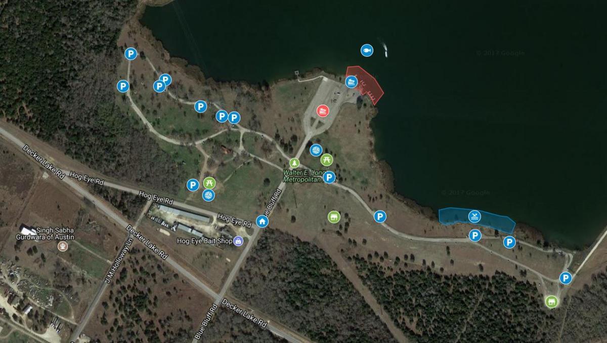 Lake Walter E  Long   Parks and Recreation   AustinTexas gov - The