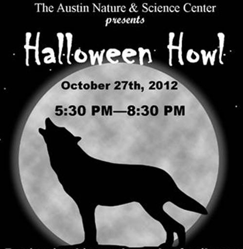 Graphic of poster for Halloween Howl