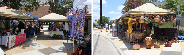 bazaar at the 2012 juneteenth celebrations
