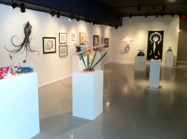 ACC student art exhibit Julia C. Butridge gallery