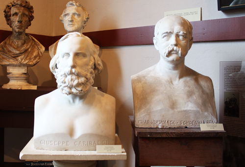 Ney's busts of famous European statesman
