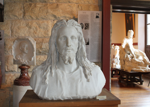 Ney's sculpture of Christ