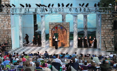sound of music at Zilker Hillside Theater