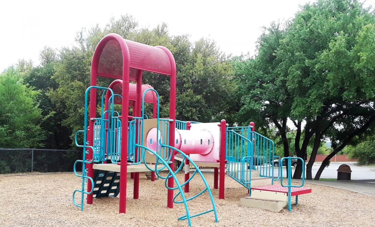 Current Tanglewood playscape for ages 2 to 5