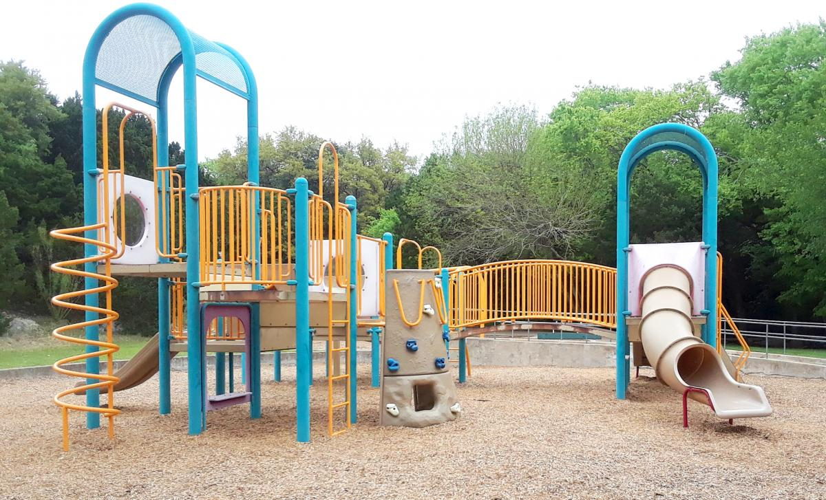 Current Tanglewood playscape for ages 5 to 12