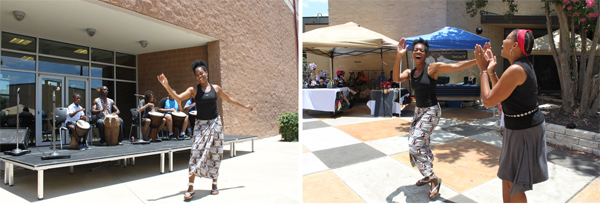 dancers at 2012 juneteenth celebrations