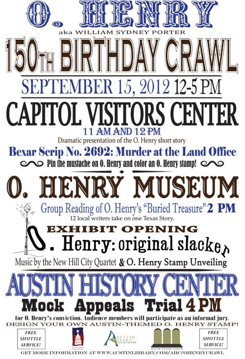 poster for O. henry crawl