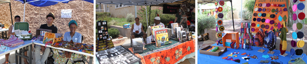 vendors at the 2012 Juneteenth
