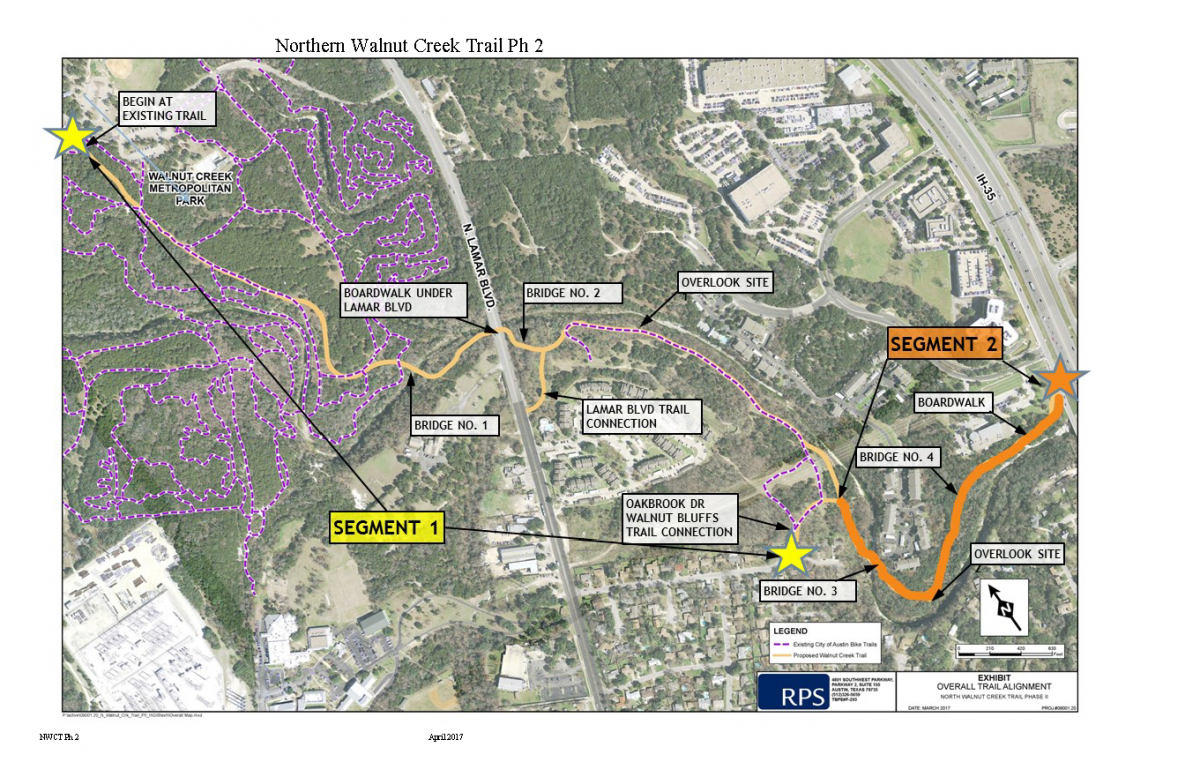 image of northern walnut creek trail phase 2