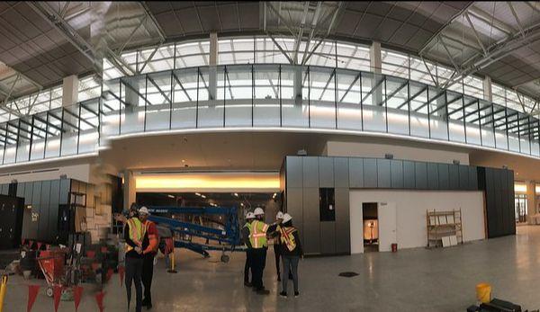 Inside of Austin Bergstrom Airport Terminal