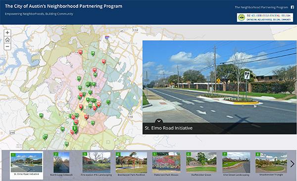 Neighborhood Partnering Program Interactive Map – City Of Austin Site Plan Application