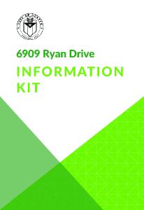 6909 Ryan Dr Information Kit