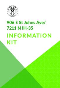 St. Johns Information Kit