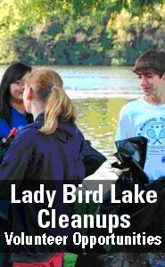 Lady Bird Lake Cleanups