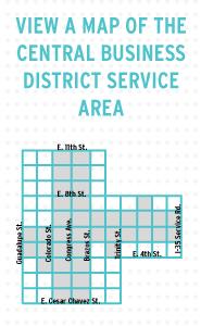 Map of CBD area