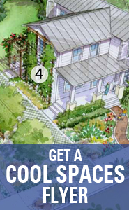 Get a Cool Spaces flyer