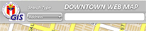 GIS viewing tool featuring downtown Austin
