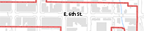 Map of E. 6th St. PID