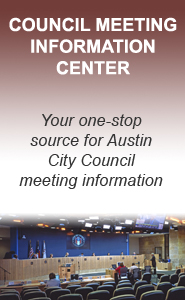 Council Meeting Information Center