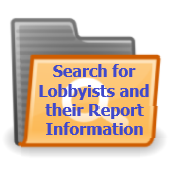 Search for Lobbyists and their Report Information