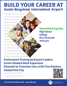 Internship Programs at Austin-Bergstrom International Airport