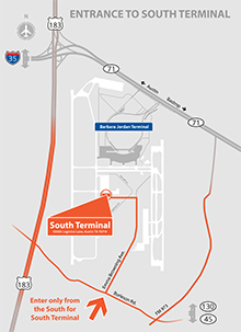 Austin Airport Terminal Map Terminals at ABIA | AustinTexas.gov   The Official Website of the