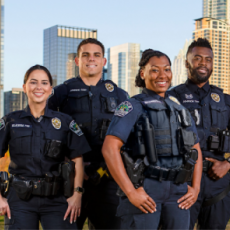 Four Austin Police officers