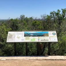 Mt. Bonnell GeoSign