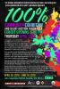100% Community Exhibit April 28th at 6pm