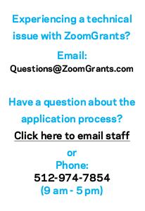 ZoomGrants Help